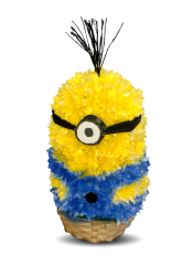 Animale din flori - Minion din crizanteme